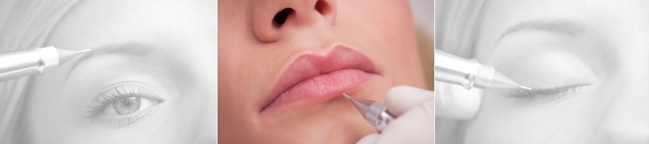permanent lips - permanent makeup kent