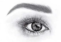 Permanent Makeup - lower eyeliner