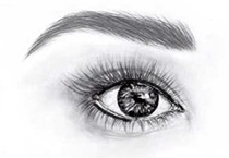 Permanent Makeup - upper and lower eyeliner