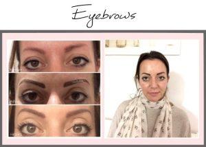 Permanent Makeup Portfolio Eyebrows Lisa