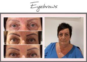 Permanent Makeup Portfolio Eyebrows Carol