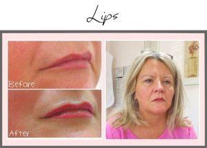 Permanent Makeup Portfolio Lips Theresa