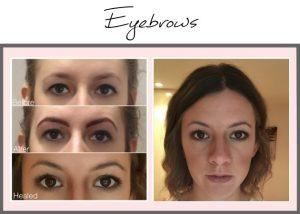 Permanent Makeup Portfolio Eyebrows Charlotte