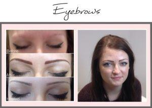 Permanent Makeup Portfolio Eyebrows Becky