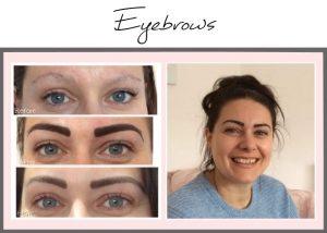 Permanent Makeup Portfolio Eyebrows Jen