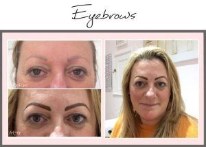 Permanent Makeup Portfolio Eyebrows Helen