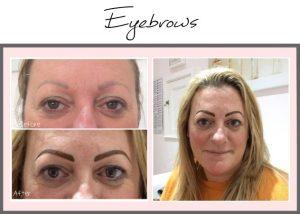 Permanent Eyebrows Portfolio - Helen