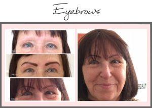 Permanent Eyebrows Portfolio Angela