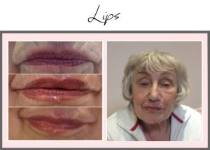Tattooed Lips Portfolio Joan