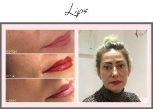 tattooed lips kasia