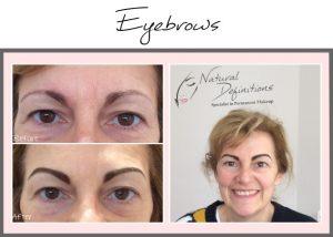 tattooed eyebrows portfolio emma